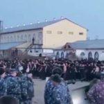 Бунт в колонии города Ангарска